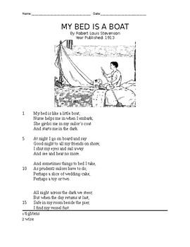 STAAR Practice Poetry