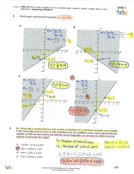 STAAR-Practice Quiz, Category 3, TEKS A.2(H)