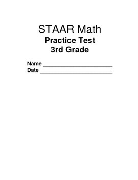 Staar Review Math 3rd Grade Teaching Resources | Teachers Pay Teachers