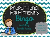 Proportional Relationships Bingo
