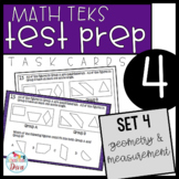 4th Grade Math TEKS Task Cards - Set 4