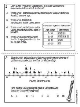 4th Grade Math TEKS Test Prep Task Cards - Set 5
