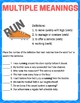 Reading Vocabulary Olympic Games - STAAR Prep