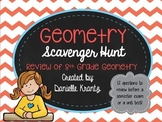 Geometry Review Scavenger Hunt