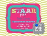 STAAR Prep Math Task Cards Measurement and Data - Grade 6