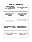 STAAR Question Stems for Poetry and Literary Nonfiction