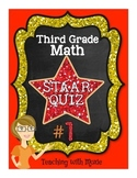 STAAR Quiz #1 - Third Grade Math