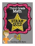 STAAR Quiz #4 - Third Grade Math