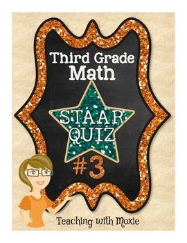STAAR Quiz Bundle - Third Grade Math