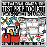 STAAR Reading Test Prep 3rd Grade, 4th Grade- Test Prep STAAR Review Lapbook
