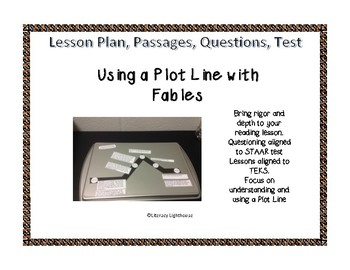 STAAR READING FICTION REVIEW: Using a Plot Line with Fables