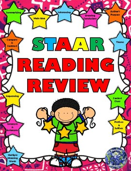 STAAR READING REVIEW - TEST PREP - Summarizing - Main Idea - Inferencing - Etc..