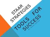 STAAR READING STRATEGIES TOOL  -  POWERPOINT ppt.