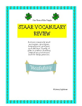 STAAR READING VOCABULARY REVIEW