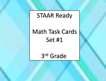 STAAR READY Math Task Cards Set 1