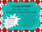 STAAR REVIEW BUNDLE: 7th Grade Math Reporting Category 1: