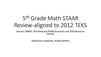 STAAR REVIEW GAME