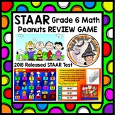 STAAR REVIEW GAME 6th grade Math 2018 Released TEST Interactive Powerpoint + KEY