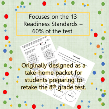 8th GRADE MATH STAAR REVIEW:  SSI and Take Home Readiness Standard Problems