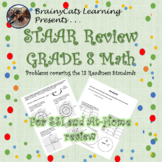8th GRADE MATH STAAR REVIEW:  SSI and Take Home Readiness