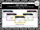 Spring Themed STAAR Readiness Review Bundle - Pt 1: 3.2A, 3.2D, 3.3F, 3.3H, 3.4A