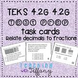 STAAR Readiness Test Prep Task Cards 4th -NEW TEKS 4.2B 4.2G