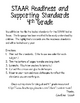 STAAR Readiness and Supporting Standards-Reading