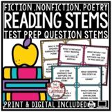 Reading Test Prep 3rd Grade 4th Grade [Nonfiction, Poetry, Drama]