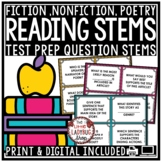 Reading Test Prep Question Stems [Fiction, Nonfiction, Poe