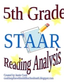 STAAR Reading Analysis 5th Grade
