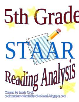 STAAR Reading Analysis 5th Grade
