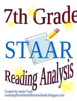 STAAR Reading Analysis 7th Grade