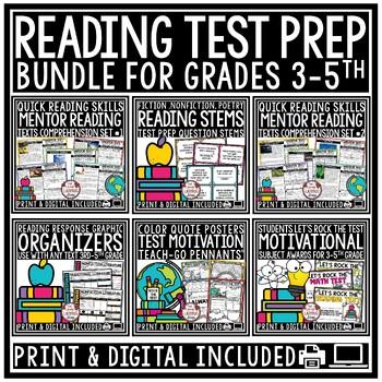 STAAR Reading Test Prep BUNDLE