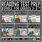 Reading Test Prep 3rd Grade 4th Grade Reading Comprehension Passages & Questions