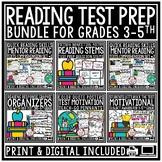 Reading Test Prep Bundle- Reading Comprehension Passages & Questions
