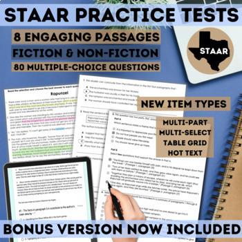STAAR Reading Boot Camp Bundle