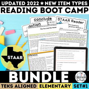 STAAR Reading Boot Camp Bundle Grades 3-5