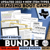 STAAR Reading Boot Camp Bundle III