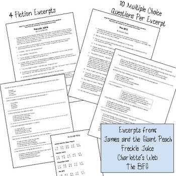 STAAR Reading Boot Camp Bundle with Review Grades 3-5