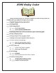 STAAR Reading Centers Checklist