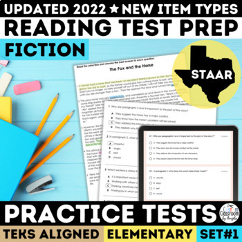 STAAR Reading Comprehension Passages Grades 3-5