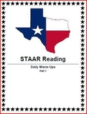 STAAR Reading Daily Warm Ups