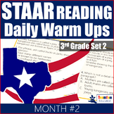 STAAR Reading Daily Warm Ups 3rd Grade #2