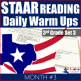 STAAR Reading Daily Warm Ups 3rd Grade #3