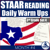 STAAR Reading Daily Warm Ups 3rd Grade #4