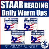 STAAR Reading Daily Warm Ups 3rd Grade (Bundle)
