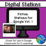STAAR Reading - Digital Fiction Stations - Test Prep - Dis