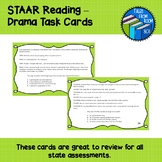 STAAR Reading - Drama Task Cards
