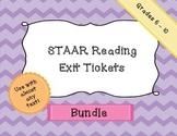 STAAR Reading - Exit Tickets - Bundle