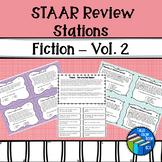 STAAR Reading - Fiction Stations - Volume 2 - Test Prep